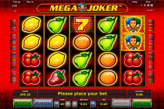 mega joker novomatic slot